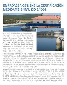 Obtención del Certificado ISO 14001