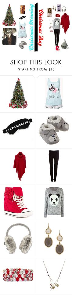 """Chrismas Morning!! Moe!"" by martini-ariana ❤ liked on Polyvore featuring Forever 21, Wildfox, Wallis, Pull&Bear, Rock & Candy, White Stuff, Blu Bijoux, Christmas, TheNewForeign and MOE"