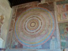 One of the restored frescoes inside the Camposanto in Pisa, Italy