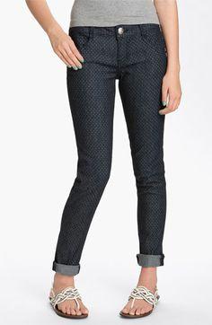 Jolt Polka Dot Skinny Jeans (Juniors) | Nordstrom