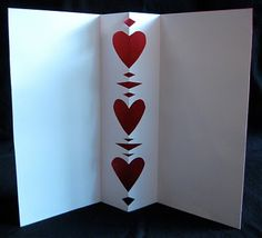 "Cut Paper Symmetry ""Pop-Out"" Card 