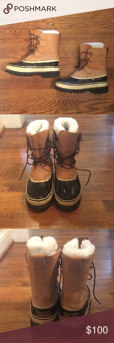 Cabelas Winter Boots Cabelas Winter/Pac boots. Waterproof. Removable liners with pocket for foot warmers.Used on one trip. Otherwise in almost new condition. No box. Run large. May better fit size 8 Cabelas Shoes Winter & Rain Boots