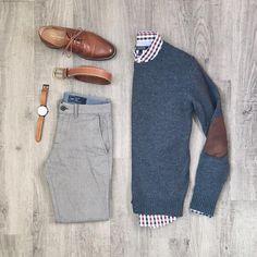 "1,475 Me gusta, 23 comentarios - Mitch Yasui (@mitchyasui) en Instagram: ""Subtle textures and not-so-subtle elbow patches. Shirt: @bananarepublic Sweater, belt: @frankandoak…"""