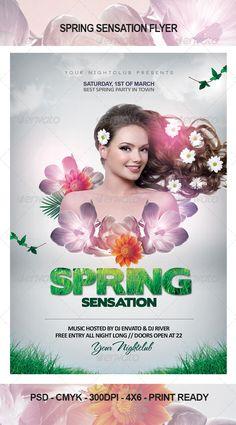 Spring Sensation Flyer