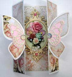 470.713.598 Dutch Doobadoo Card Art Vouwkaart Butterfly
