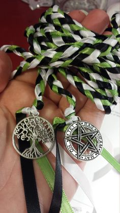 Tree Of Life Pagan  Wedding Hand Fasting/ Binding Cord ~ Pentagram ~ Tree Of Life ~ Wiccan ~ by DivinityBraid on Etsy