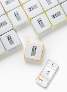 netatmo smartphone connected thermostat by philippe starck