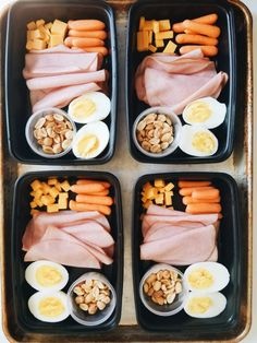 Budget Ham and Cheese Snack Box! This snack box comes in at 359 calories, g carbs, g fat, and a whopping g protein! Easy Healthy Meal Prep, Healthy Lunches For Kids, Lunch Snacks, Healthy Toddler Meals, Healthy Snacks, Easy Meals, Healthy Recipes, Snack Box, Toddler Food
