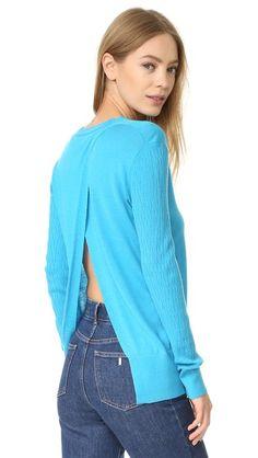 TOME Long Sleeve Sweater. #tome #cloth #dress #top #shirt #sweater #skirt #beachwear #activewear