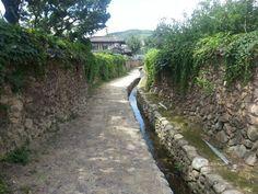 Samjinai village street in Damyang-gun, Jeollanam-do