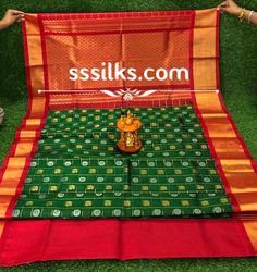 Indian Handloom Sarees and Silks Kuppadam Pattu Sarees, Handloom Saree, Pure Silk Sarees, Different Patterns, Contrast, Weaving, Colours, Pure Products, Traditional