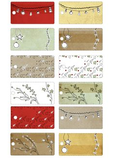 """""""etiquettes"""" Free Label Download Holiday Labels Valentine's Day Printables, Free Christmas Printables, Printable Labels, Printable Paper, Impression Etiquette, Office Xmas Party, Make Your Own Labels, Free Graphics, Christmas Tag"""