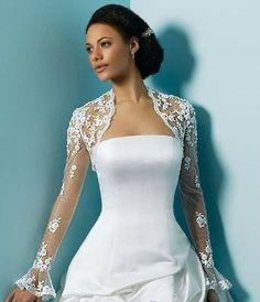 Image detail for -... for the most beautiful wedding dress, boleros for brıdal dress