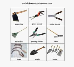English For Beginners: Tools of Agriculture