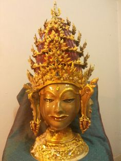 """ Smile of ankor ""   my diy 4 face in on head 1. Lordbudda"