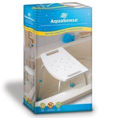 Aquasense Adjustable Bath Seat