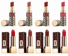 Highlighter Makeup, Makeup Lipstick, Bronzer, Cosmetics & Perfume, Makeup Cosmetics, Ysl Beauty, Beauty Makeup, Ysl Rouge Volupte, Versace Bright Crystal