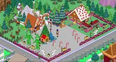 Christmas Village Layout