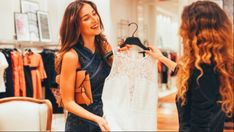 Whether that comes from a stylish ensemble reserved for dinners out, a favorite yoga or gym outfit or a lucky shirt and tie saved for the most important of business meetings, when we look good, we feel good…and perform at our best. Julia Roberts, Business Outfits, Vivienne Westwood, Stella Mccartney, Curvy, Cold Shoulder Dress, White Dress, Dressing, Queen
