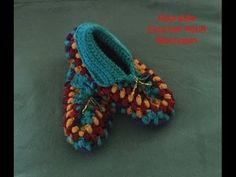 These crocheted slippers are so quick to work up that you can make a pair from just one skein in one evening. Perfect for Christmas presents! Please support ...