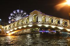 Night time in Melacca (Malaysia's Venice)