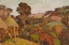 Hilly Countryside - Benjamin Haughton