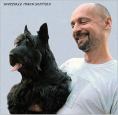 INVISIBLE TOUCH KENNEL Goran Gladic and his CH Stanley of The Tam O'Shanter Land Photo by Bojan Gladic