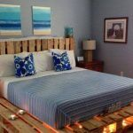 Diy Full Size Bed Frame With Storage Ideas With Light Underneath - HGNV.COM