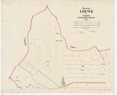 Gemeinde Lancsuk in Ungarn [S 78 - 026. téka - Lánycsók - 1-5.] | Térképek | Hungaricana