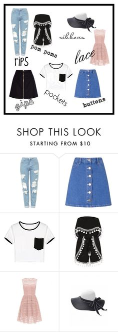 """accessories"" by phoso on Polyvore featuring Topshop, Miss Selfridge, WithChic and Acne Studios"