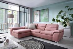 SORA rozkladacia sedačka s funkciou relax polohovateľnými opierkami Pastel Decor, Sofa, Couch, Relax, Living, Furniture, Design, Home Decor, Scandinavian