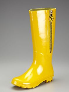 Love them! Yellow Highlands Rain Boots for Spring - by Jack Rogers