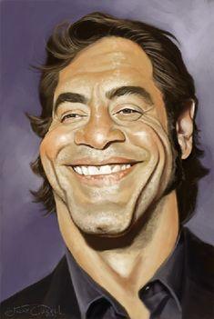 Javier Bardem  Artist: Jaume Cullell