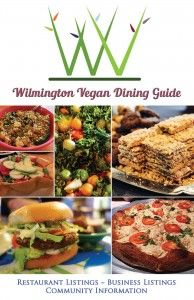 The freshly updated 2015 edition of the Wilmington Vegan Dining Guide. Photo courtesy Sue Cag