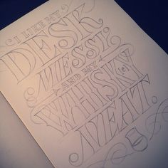 Jessica Hische #typography #lettering