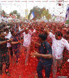 తుని లో వైయస్ జగన్ కి బ్రహ్మరధం పట్టిన ప్రజలు..   Jaganism