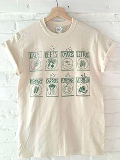 Garden print t-shirt