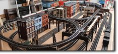 Custom Model Train & Railroad Layouts