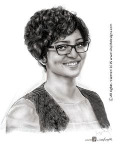 """Check out my @Behance project: """"Actress parvathy menon - Realistic Pencil drawing"""" https://www.behance.net/gallery/44545295/Actress-parvathy-menon-Realistic-Pencil-drawing"""