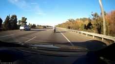 Sport Bike Kids Backing Up Highway Traffic