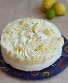 Vacherin glacé au citron Limoncello, Meringue Suisse, Camembert Cheese, Dairy, Food, Cooker Recipes, Lemon Curd Ice Cream, Meals, Yemek