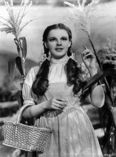 """1939 file photo provided by Warner Bros. Garland's original costume from """"The Wizard of Oz""""  will be up for sale at Julien's Auctions in November 2012."""
