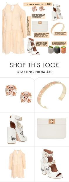 """""""Dresses Under $100"""" by misshonee ❤ liked on Polyvore featuring Anika and August, Marc Jacobs, Joop! and Shop Succulents"""
