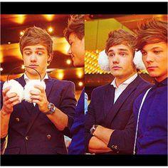 Haha; Liam. How cute