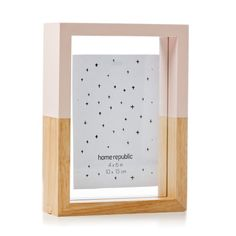 Home Republic Emerson Frame Blush, frames, photo frames