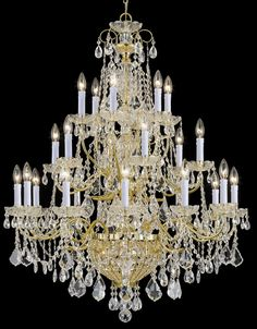 *.¸.*.♥ *.¸.*. Beyond Beautiful French chandelier *.¸.*.♥ *.¸.*.