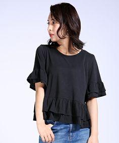 カットフリルカットソー(Tシャツ/カットソー) FREAK'S STORE(フリークスストア)のファッション通販 - ZOZOTOWN