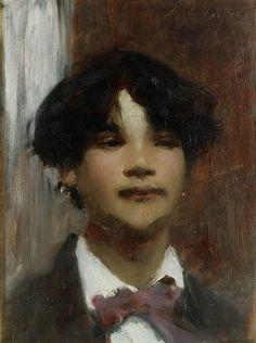 『ナポリの少年』横浜美術館 John Singer Sergent