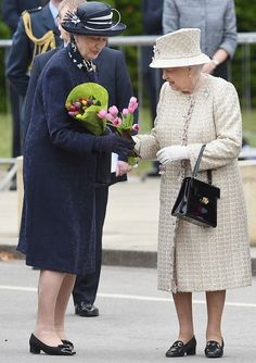 On May 9, 2017, Queen Elizabeth and Prince Philip visited the Pangbourne College on the occasion of the school's centenary in Berkshire. Founded in 1917 as a training college for officers of the merchant navy, Pangbourne College is now a co-educational boarding and day school for 400 pupils aged between 11-18