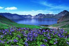 백두산 Heaven lake,Korea